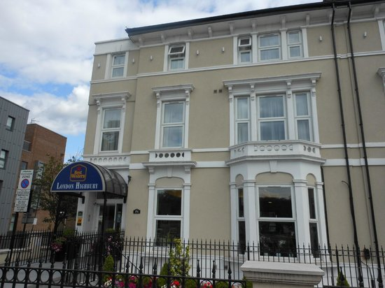 Best Western London Highbury: Hotel