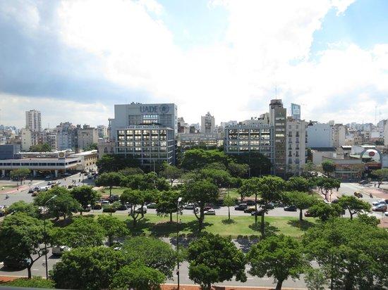 Scala Hotel Buenos Aires : Vista do quarto onde fiquei