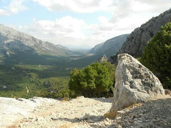 Dorgali, Italien: panorama in prossimità del sito