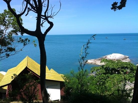 Hua Laem Resort: view from bungalow