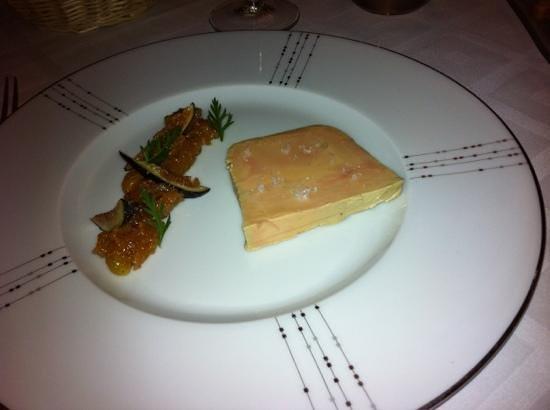 La Bonne Auberge: foie gras compote de figues