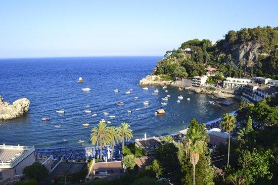 Mazzaro, อิตาลี: panorama dalla terrazza della camera
