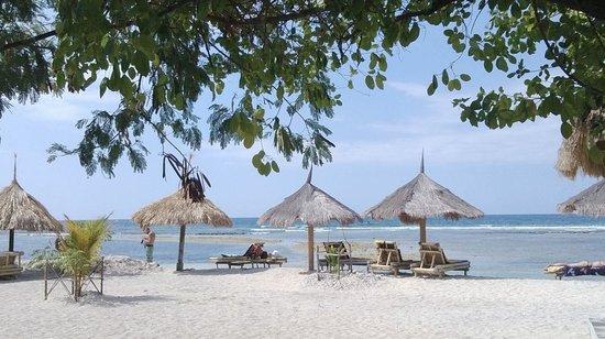 Gili Air Resort: la spiaggia