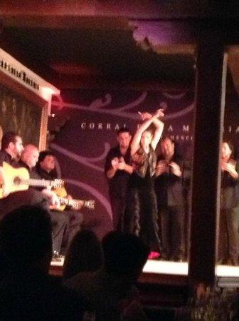 Corral de la Moreria: ギターとダンスと歌のすべてに引きこまれます