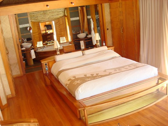 Le Taha'a Island Resort & Spa: Vue d'ensemble de la chambre