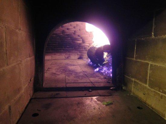 La Muraglia: Pizza Oven