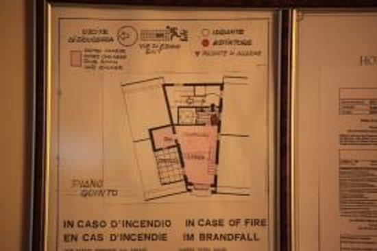 Hotel Belvedere Bellagio: 間取り