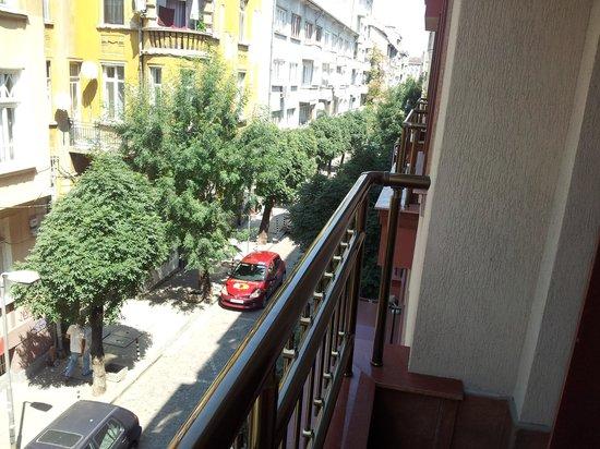 Sofia Place: Vue de la chambre