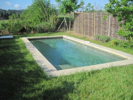 Jardins de Saint-Benoit: Piscine privée