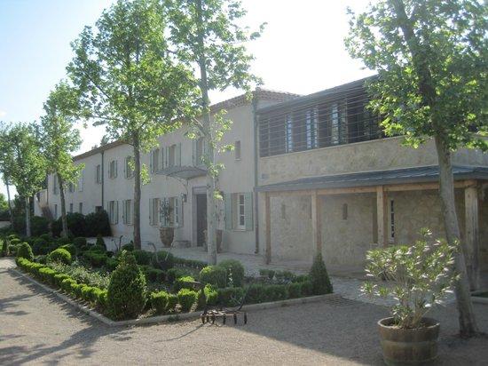 Jardins de Saint-Benoit: Accueil