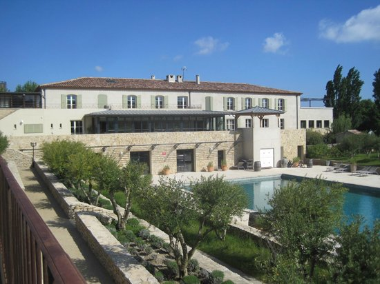 Jardins de Saint-Benoit: Vue sur le restaurant