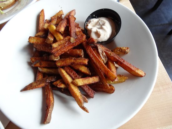 The Holy Grill: Sea Salt Fries