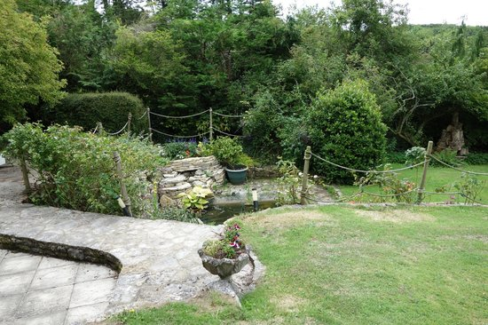 West Ower B&B: The garden