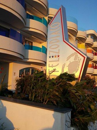 Hotel Zodiaco : esterno hotel