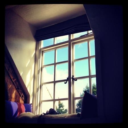 Weeke Barton hotel: bedroom window