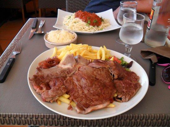 Brasserie Le Belvédère : cote de taureau