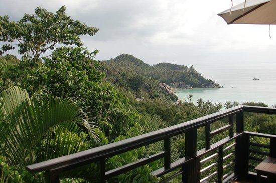 Chintakiri Resort: my bungalow overlooking Chalok bay