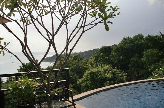 Chintakiri Resort: view over chalok bay