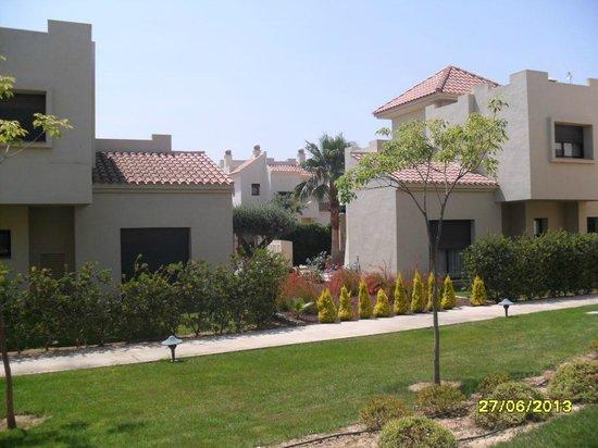 Roda Golf & Beach Resort: Outside our room