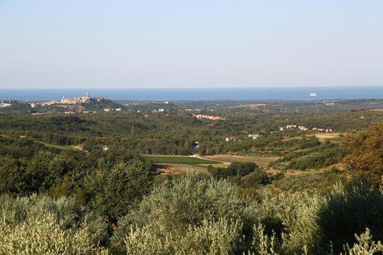 Agroturizam San Mauro: Vue sur la mer