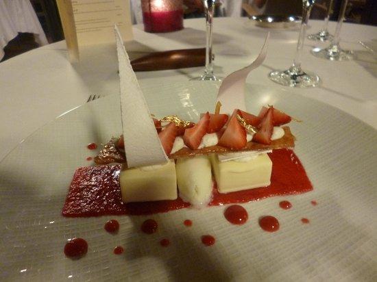Le Prieure Hotel Restaurant : Fabulous food