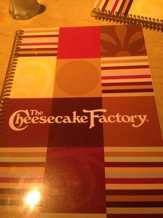 The Cheesecake Factory: we are here