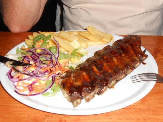 Restaurant El Asador: Spare ribs