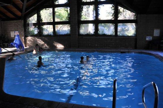 Best Western Plus Yosemite Gateway Inn : La piscina interna