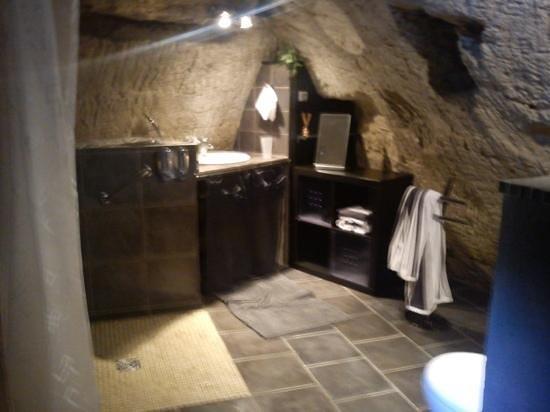 Farfadine & Troglos: salle d'eau Barnabé