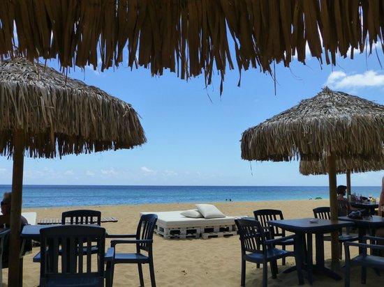 Praia do Porto Santo: Bar de plage pour se désaltérer