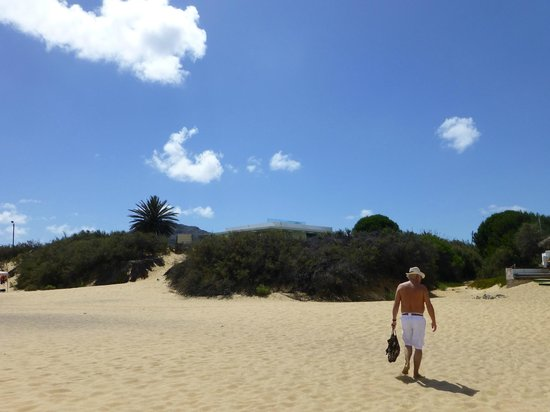 Praia do Porto Santo: Retour de plage au mois d'Août