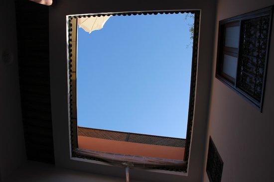 Riad Alena : le patio, vue du ciel !