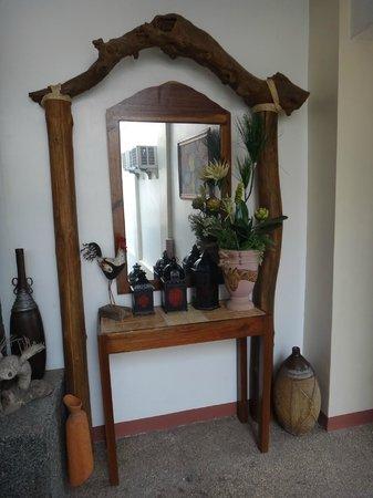 Balaibinda Lodge : cute interior in the hallway