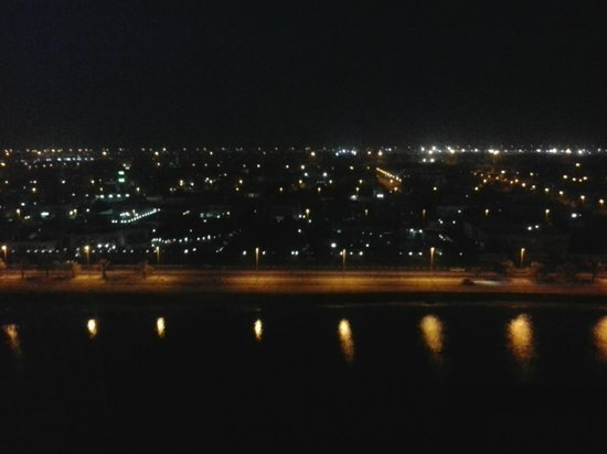 Novotel Abu Dhabi Gate : Night full view from 10th floor