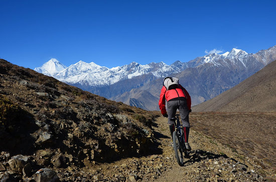 ‪Pokhara Mountain Bike Adventure - Day Trips‬