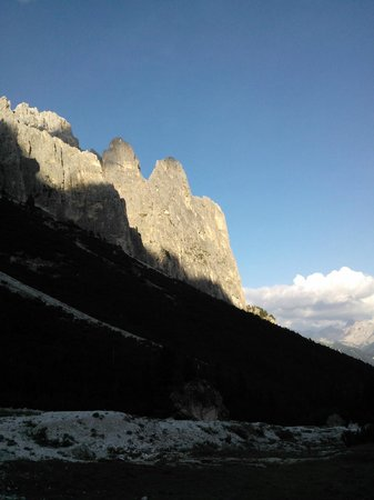 Rifugio Stella Alpina : Panorama