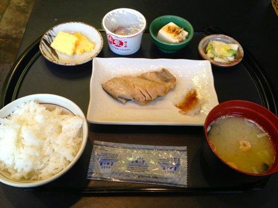 Shibuya Granbell Hotel: Japanese breakfast selection