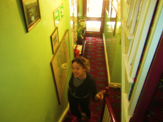 Albany Hotel: Entry stairs