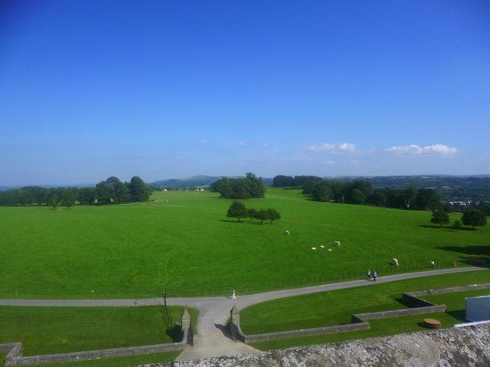 Dinefwr: View from Newton house roof