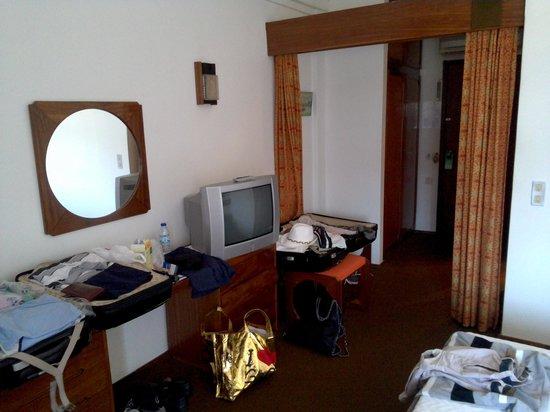 Hotel do Parque: letto