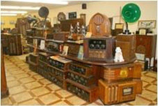 Dungarvan Creek Bed & Breakfast: Das ist das Radiomuseum im Hause