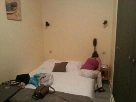 Hotel Bellevue : la chambre
