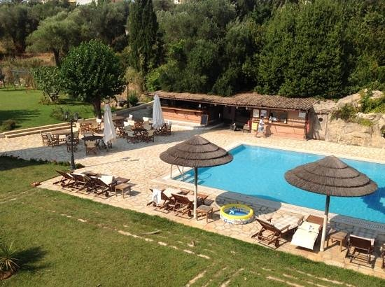 Corfu Club Apartments: The view from the Junior Suite