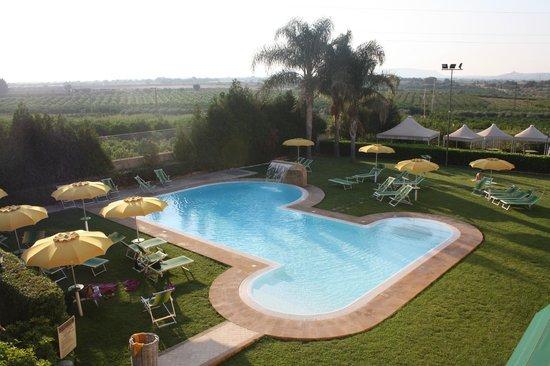 Il Podere Hotel: uitzicht vanuit de kamer