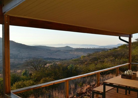 Three Trees at Spioenkop: The view from Churchills