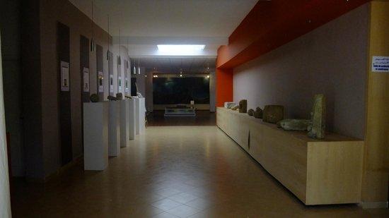 Villa Marine: Petit musée du site archéologique de Ksar al-Majaz