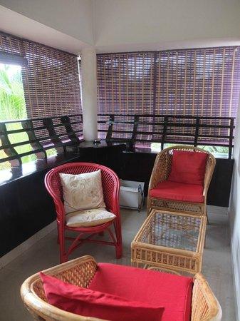 Bella Art & Meditation House : Espace détente au 1er