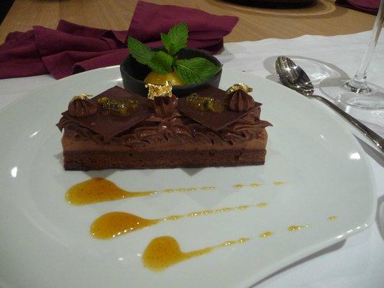 dessert au chocolat picture of la galerie b loches tripadvisor