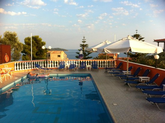 Eleni's Village: View from the Pool Bar