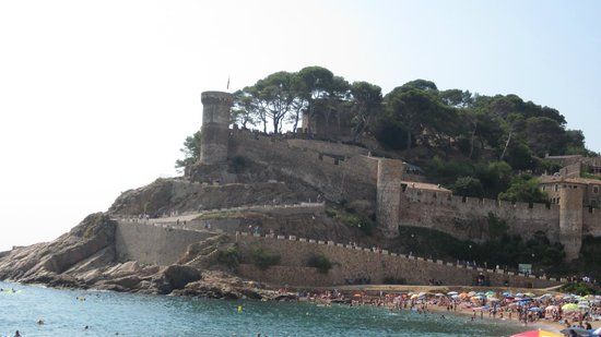 Hotel Delfin: Castillo de Tossa